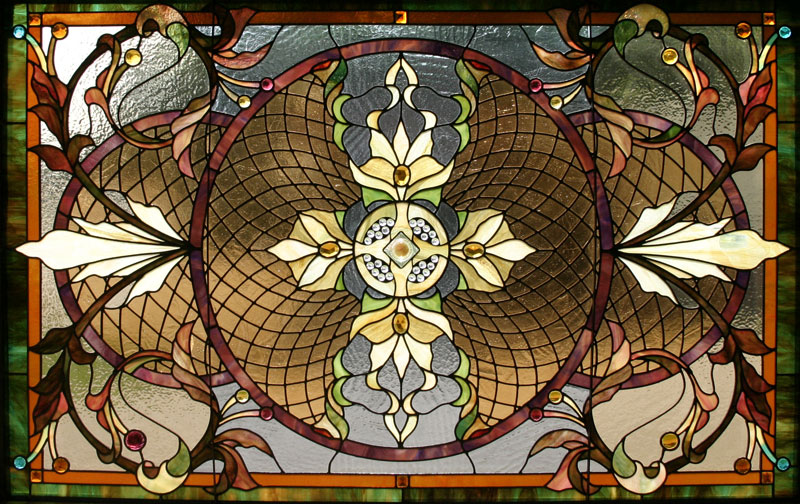 Lumpkin Stained Glass Beveled Glass Finest Antiques